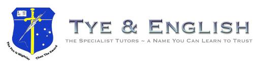 Tye and English